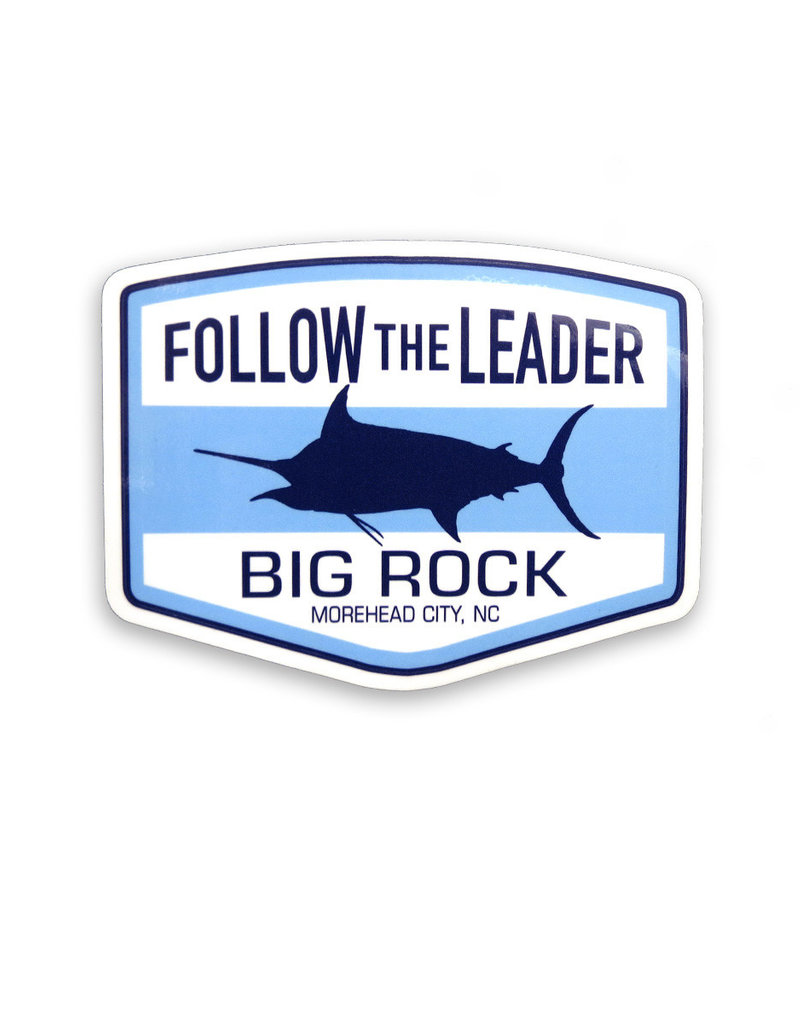 Follow the Leader Die Cut Sticker