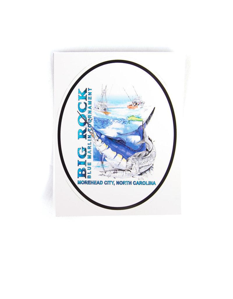 58th Annual Big Rock Rectangle Sticker