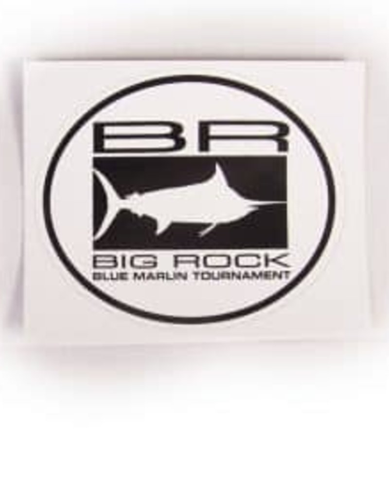 BR Edge Block Circle Sticker