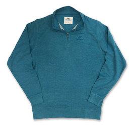 Men's Streak Embroidered Tri-Blend 1/4 Zip