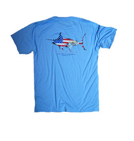 Patriot Marlin Short Sleeve Performance Shirt