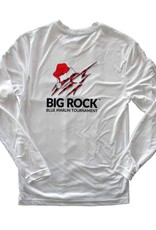 Santa Hat Marlin Long Sleeve Performance Shirt