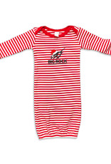 Infant Santa Marlin Striped Gown