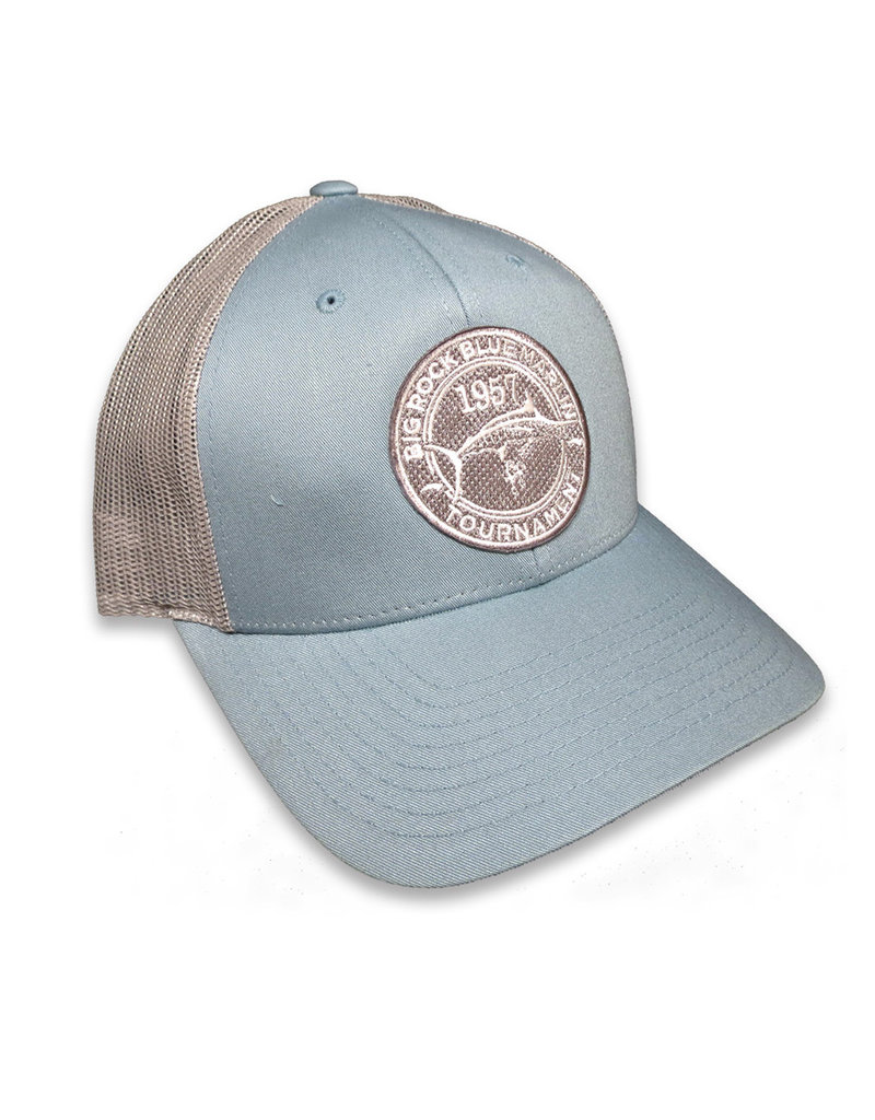Woven Circle Banner Patch Hat
