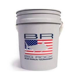 BR Edge USA Decal, Grey Bucket