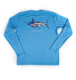 Patriot Marlin Long Sleeve Performance Shirt