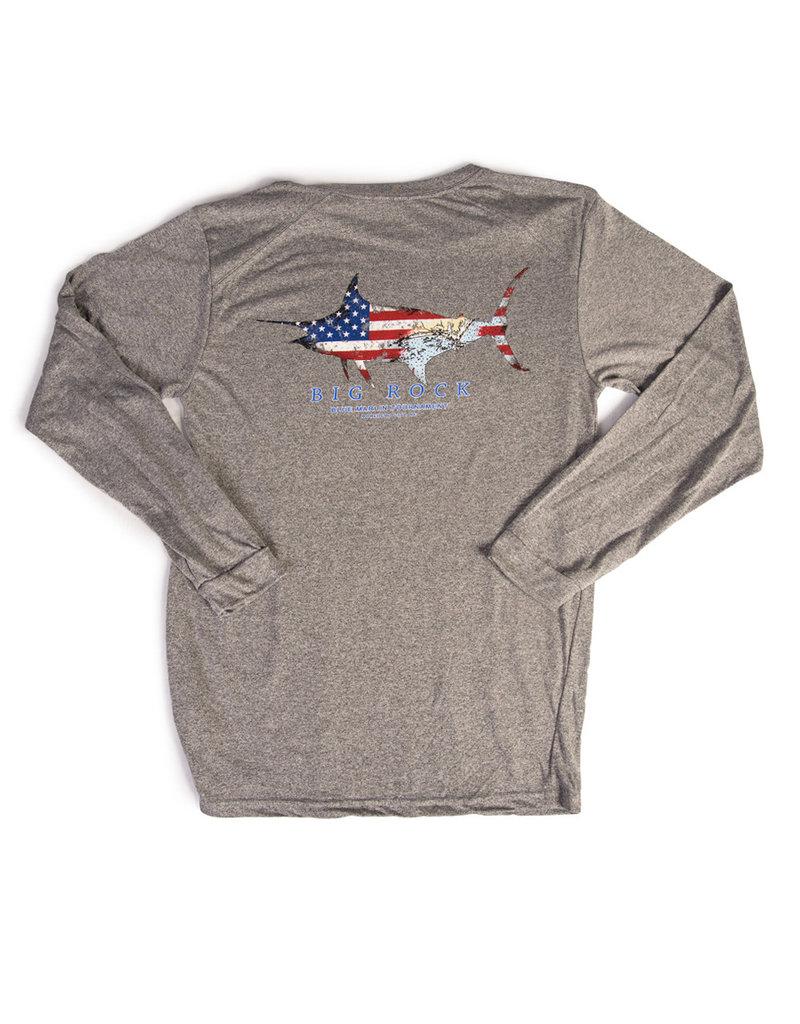 Patriot Marlin Long Sleeve Performance Shirt