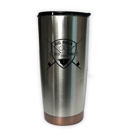 Rod and Shield Two Tone Stainless Tumbler