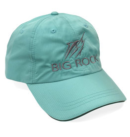 Streak Reflective Poly-Perf. Hat, Mint/Silver