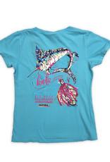 22nd Annual KWLA Ladies Vneck T-shirt