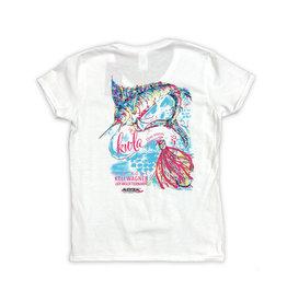 22nd Annual KWLA Ladies V-neck T-shirts