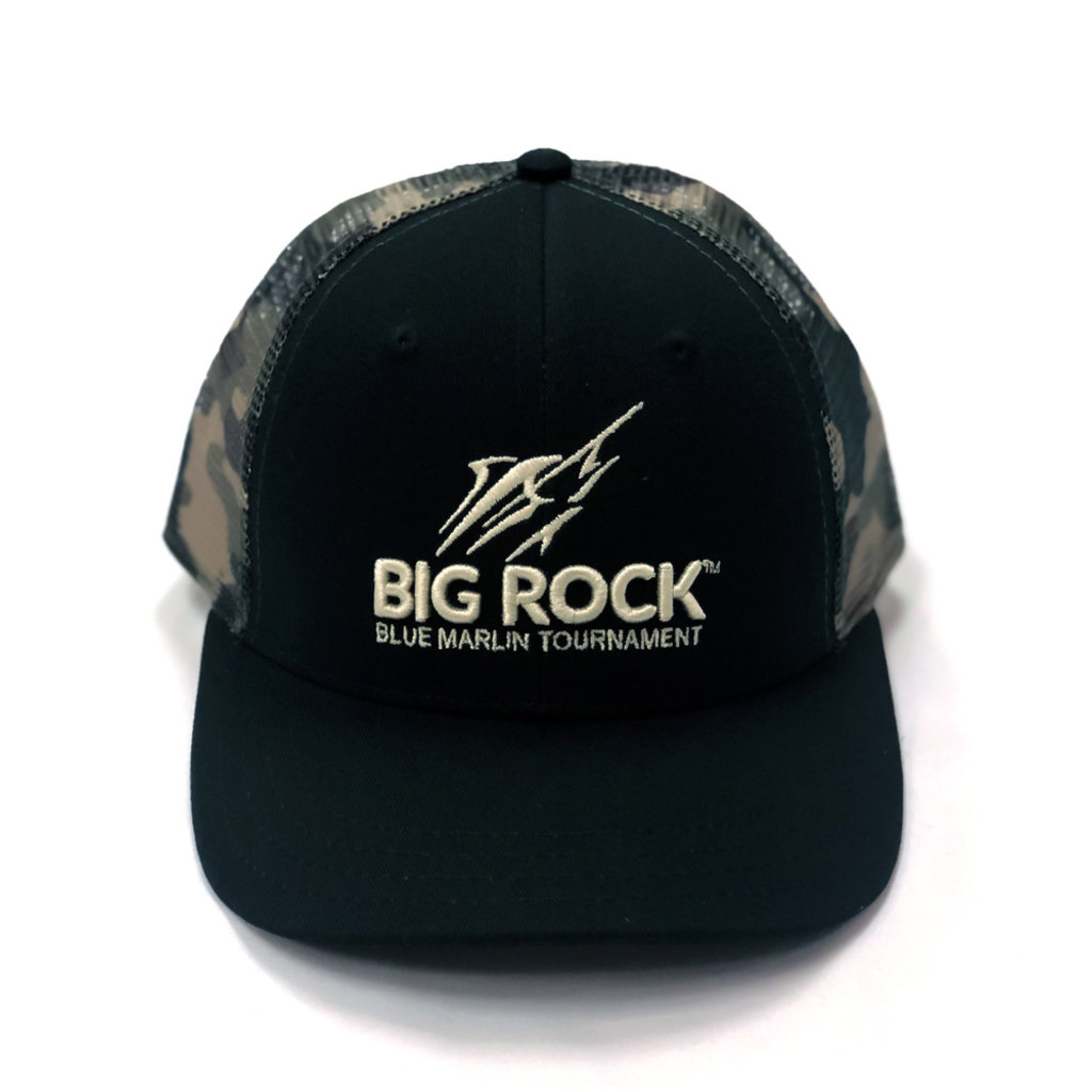 Big Rock Youth  Vertical Puff Streak Trucker