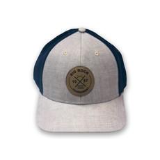 Big Rock Gray Circle Patch X Stretch Hat