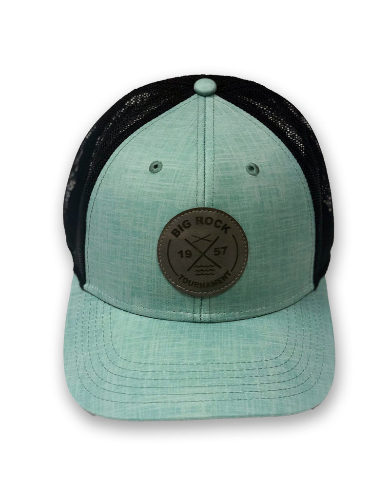 Big Rock Gray Circle Patch X Stretch Hat