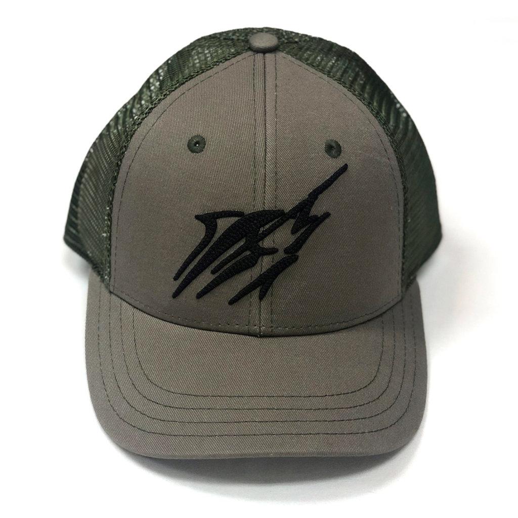 Large Streak Snap-back Hat