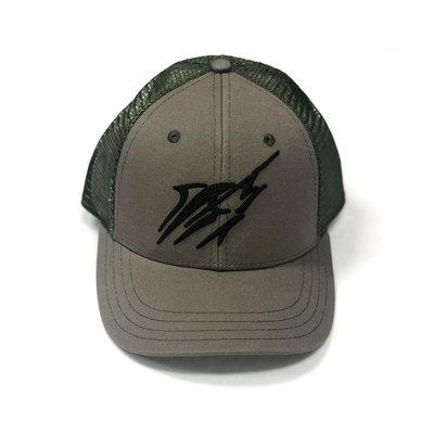 Large Streak Snap-back Hat (4 colors)