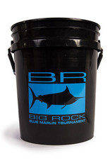 Black BR Edge Bucket, Blue Decal