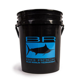 Black BR Edge Bucket, Blue Decal