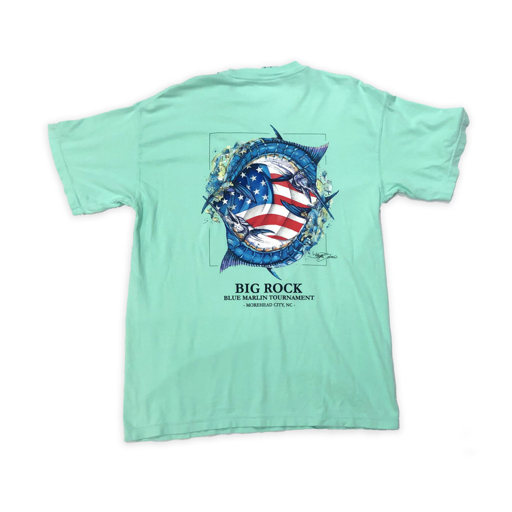 Big Rock Red, White & Big Rock T-Shirt