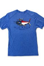 NC Flag Silhouette Short Sleeve Performance Shirt