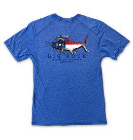 NC Flag Silhouette S/S Performance Shirt