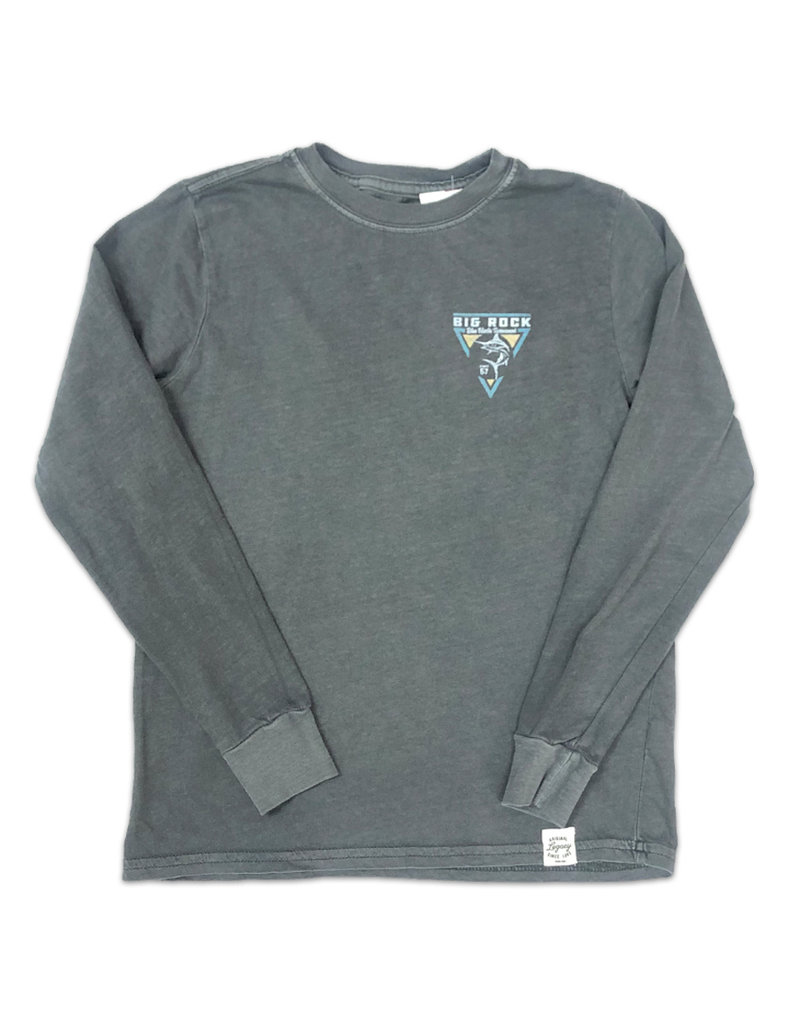 Youth L/S Vintage Wash Triangle Tee