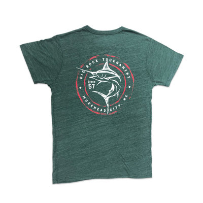 League Circle Sketch TriBlend Tshirt