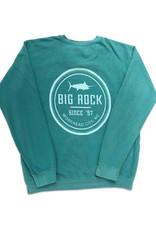 Circle Rock One Color Crewneck Sweatshirt