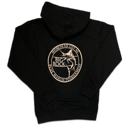 Madison Marlin Full Zip Hoodie, Black