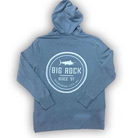 Ladies Circle Rock Hoodie, Dusty Blue