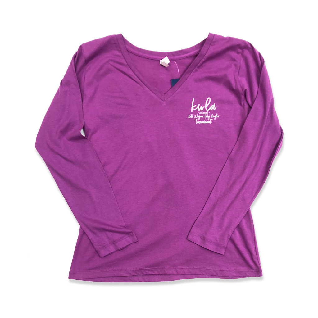 23rd Annual KWLA Ladies L/S V-Neck Tee