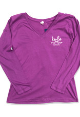 23rd Annual KWLA Ladies L/S V-Neck Tee