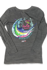 23rd Annual KWLA  L/S TriBlend V-Neck Tee