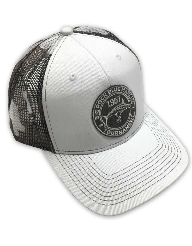 Vintage 57 Patch Outdoor Trucker White/Gray