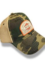 Vintage Camo Diamond Org. Arch Trucker Hat