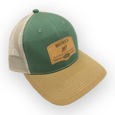 Outdoor Fisherman's Paradise Leather Patch Olive/Khaki