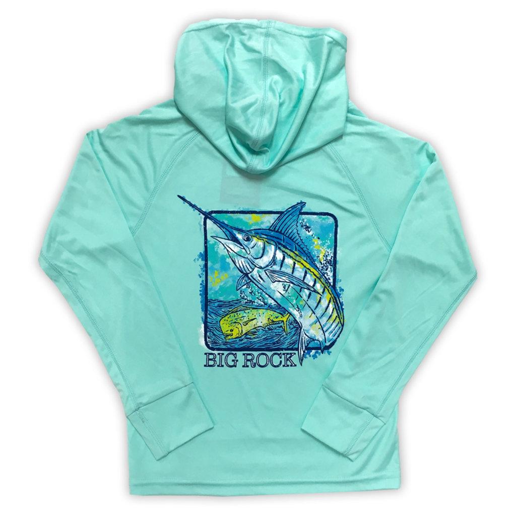 Youth Marlin Box Performance Hoodie