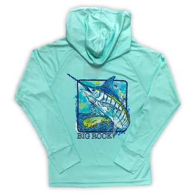 Youth Marlin Box Performance Hoodie (3 colors)
