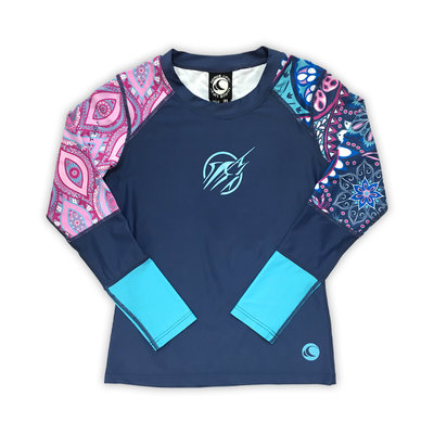 Big Rock Girls Long Sleeve Rash Guard