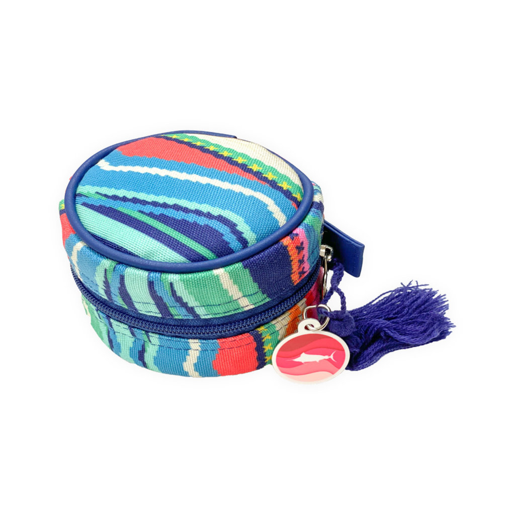 Marlin Tag Round Cosmetic Bag