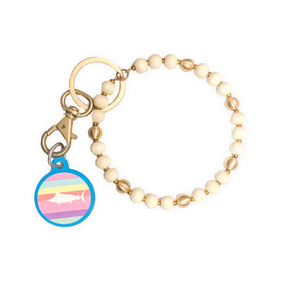 Marlin Tag Key Ring Bracelet