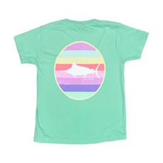 Youth Multi Stripe Circle S/S T-Shirt