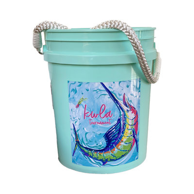 23rd Annual KWLA Bucket (2 Colors)