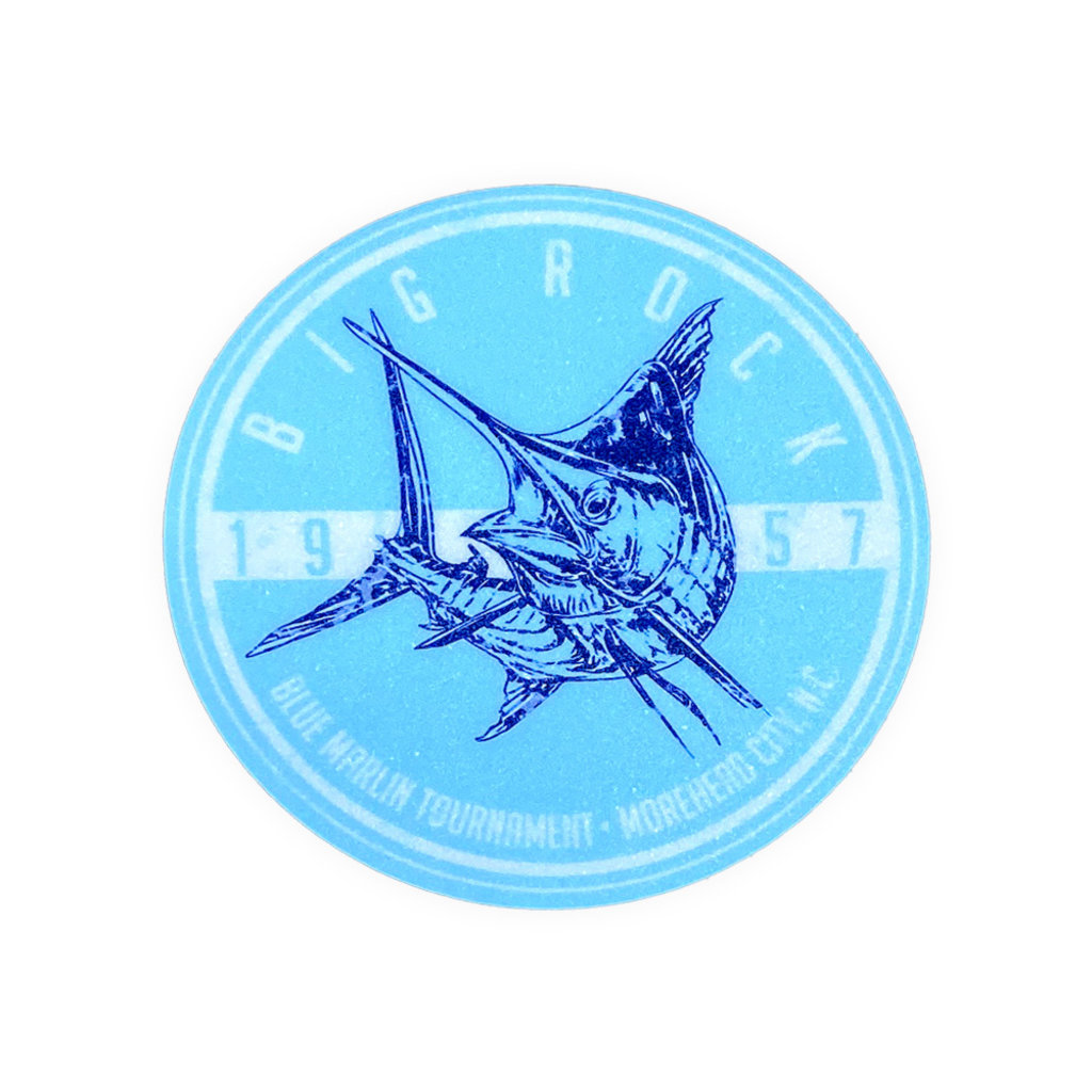Big Rock Marlin Kick Tones Sticker
