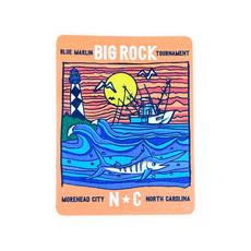 Big Rock Marlin Split Scene Sticker