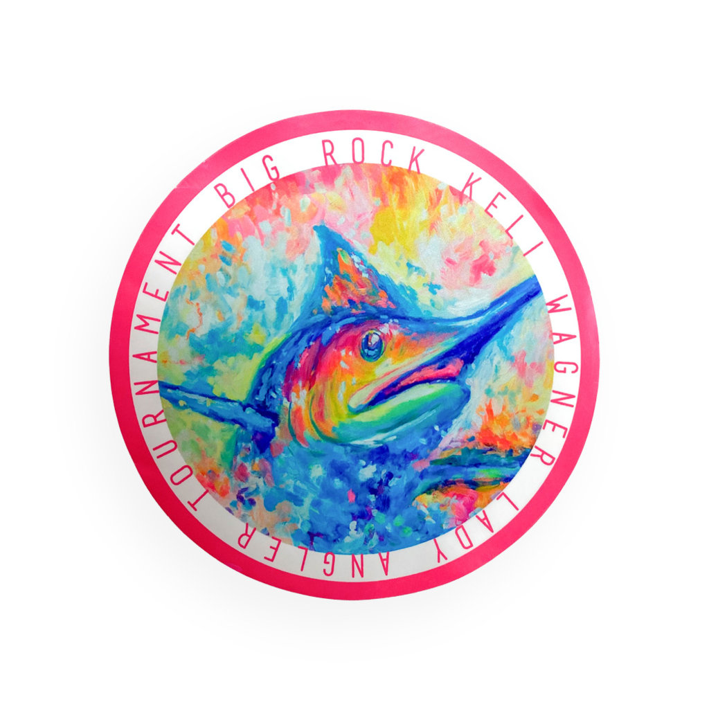 Big Rock 19th Annual KWLA Circle Sticker