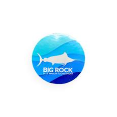Big Rock Sea Swirl Mini Sticker