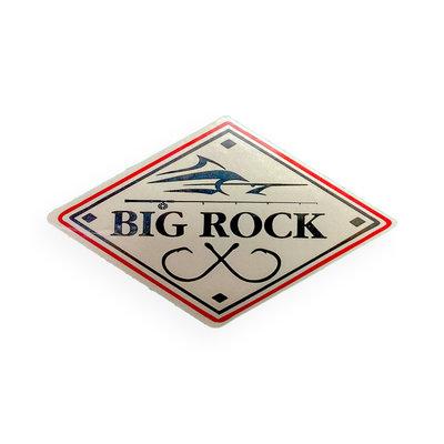 Big Rock Double Hooks Mini Sticker