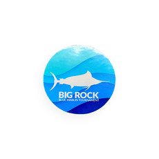 "Big Rock Sea Swirl 3"" Sticker"