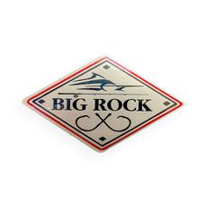 """Big Rock Double Hooks 4"""" Sticker"""
